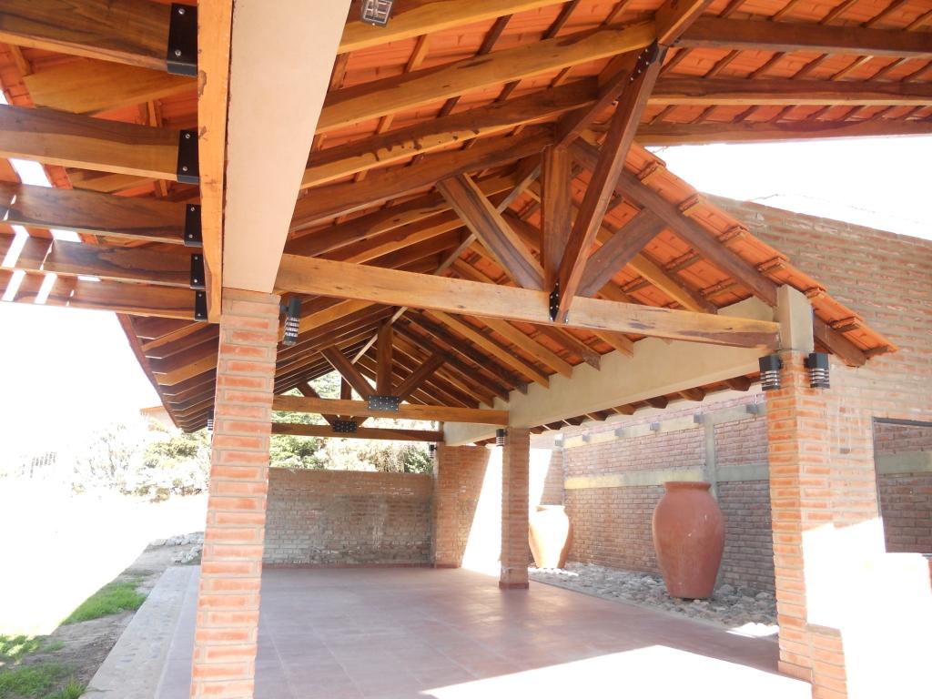 Techo para cochera techos madera clasf pictures car - Techo de madera ...